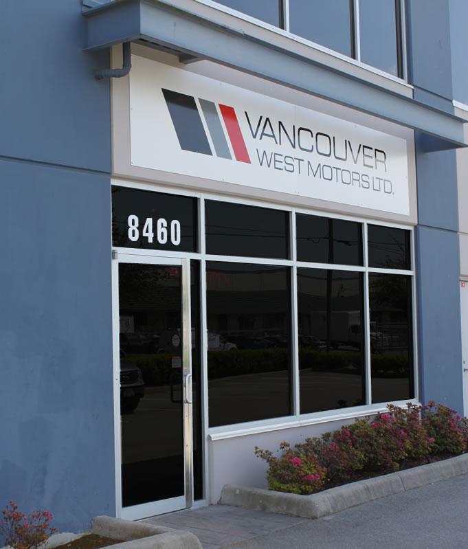 Vancouver West Motors shop